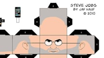 Flickr Find: Papercraft Steve Jobs