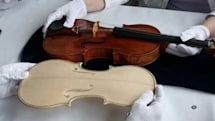 Stradivarius violin recreated from CAT scan, 'sounds amazingly similar'