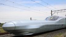 Japan begins testing the world's fastest bullet train