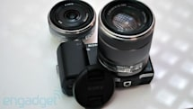 Sony NEX-5 and NEX-3 firmware update adds autofocus support for company's A-mount lenses