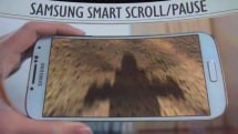 Samsung demos Smart Scroll, Smart Pause and Air Gesture on Galaxy S 4