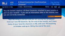 DirecTV 10 is online, but still no new HD channels