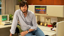 Nice featurette shows Kutcher as Steve Jobs