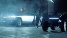 Tesla's Cybertruck found its way into a Travis Scott music video