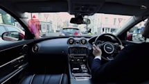 Jaguar's smart windshield will eliminate blind spots
