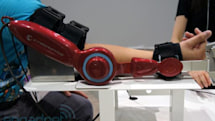 Cyberdyne HAL robotic arm hands-on (video)