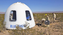 Blue Origin tests Crew Capsule 2.0 with  'biggest windows in space'