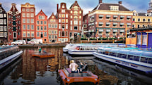 A fleet of self-driving boats will ply Amsterdam's canals next year