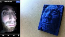3D scanner app captures models using iPhone camera