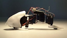 Crab Fu's Flapper fish bot creeps us the hell out