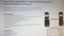 BlackBerry Style (or Oxford?) launching on Sprint October 31?