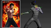 Bruce Lee comes to Conquer Online... sort of