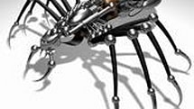 Leg spines set to give robots better footing