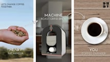 First all-in-one coffee machine that roasts, grinds and brews heads to Kickstarter