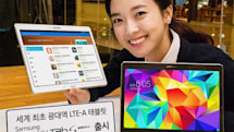 Samsung's Galaxy Tab S now packs speedy LTE-Advanced data