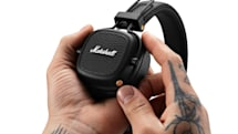 Marshall's Google Assistant headphones offer 60 hours of music