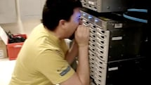 Video: Shouting at disk drive causes high latency, low morale