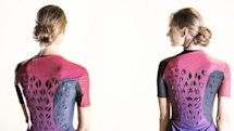 Bacteria open vents in this shirt when you sweat