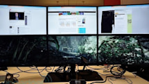 ATI Eyefinity hands-on: we played with the ultimate PC rig, and we're giving it away on the Engadget Show!