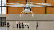 Watch this 18-rotor electric helicopter take its maiden voyage (video)
