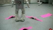 Researchers teach ASIMO and HRP-2 a bit of real life Frogger