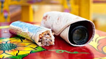 Photorito disguises your supersized lens as the world's most delicious thing