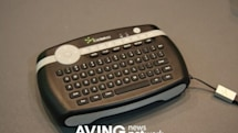 Cideko Air Keyboard doubles as 3D mouse / remote control