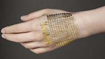 Ultra-thin e-skin could lead to advances in medicine, cool wearable computing (video)
