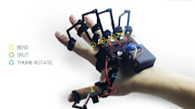 Exoskeleton for your hand lets you feel virtual objects and control robots