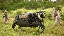 Marines send its 'AlphaDog' robot to the farm