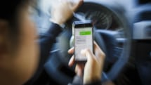 UK government to double fines and points for texting drivers