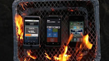 Windows Phone 7 beats iPhone 4 and Android ... in a grilling contest (video)