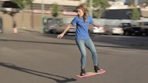 The hoverboard has arrived (video)