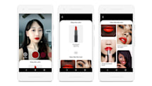 Pinterest lets users virtually try on makeup