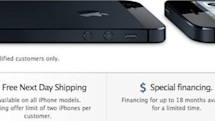 Free iPhone next-day shipping makes Apple online store purchase even more attractive