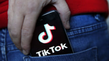 Navy bans TikTok from government-issued phones