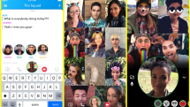 Snapchat adds group video chats and friend tagging