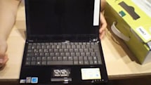 ASUS' Eee PC 1101HA netbook gets unboxed on video, shown in black
