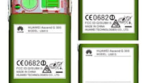 Huawei Ascend G 300 doesn't settle down at the FCC as it's only for tourists