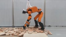 Honda's disaster recovery robot can climb ladders