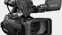 Sony PMW-100 camcorder brings 50Mbps bitrate in an itty-bitty package