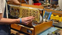Inside Moog's Minimoog Model D synth factory at Moogfest