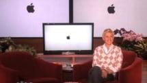 Ellen pokes fun at Apple... and then apologizes