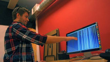 AirBeats / AirHarp creator demos his forthcoming Leap Motion music apps