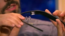 Project Glass revealed to have physical trackpad along right arm (video)