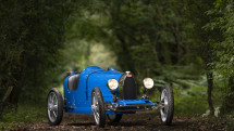 Bugatti revives its toy Baby car with a grown-up carbon fiber version