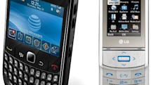 BlackBerry Curve 8520, LG Shine II coming to AT&T