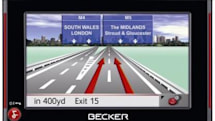 Becker Traffic Assist 7827 loose in the UK