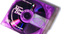 Mini disks with slanted edges could save your data, not the music industry