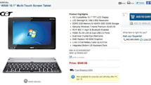 Acer's Windows-powered Iconia W500 up for pre-order for $549, ships April 15th